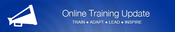 APSA - Online Training Update